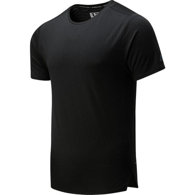 New Balance Men's Q Speed Jacquard Short Sleeve - BlackToe Running Inc. - Toronto Running Specialty Store