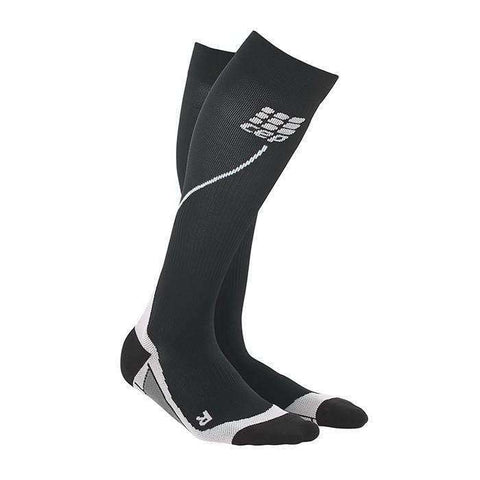 CEP Women's Progressive Compression Run Sock - BlackToe Running Inc.