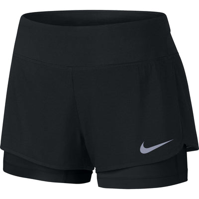 Nike Women's 2-in-1 Rival Short - BlackToe Running Inc. - Toronto Running Specialty Store