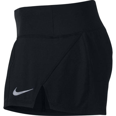 Nike Women's Nike Dri-FIT Crew Running Short - BlackToe Running Inc. - Toronto Running Specialty Store