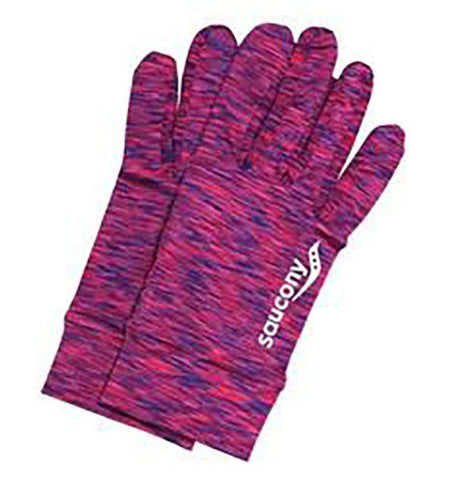 Saucony Space Dye Run Glove - BlackToe Running Inc.