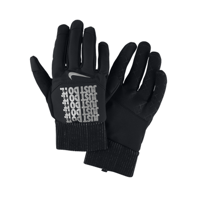 Nike Men's Shield JDI Flash Gloves - BlackToe Running Inc.