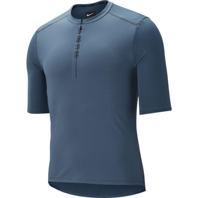 Nike Men's Tech 1/2-Zip Short-Sleeve Running Top - BlackToe Running Inc.