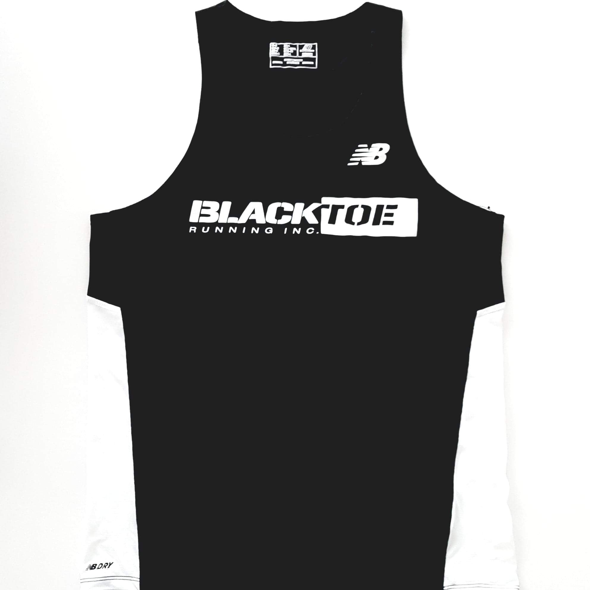 BlackToe Men's NB Singlet - BlackToe Running Inc. - Toronto Running Specialty Store