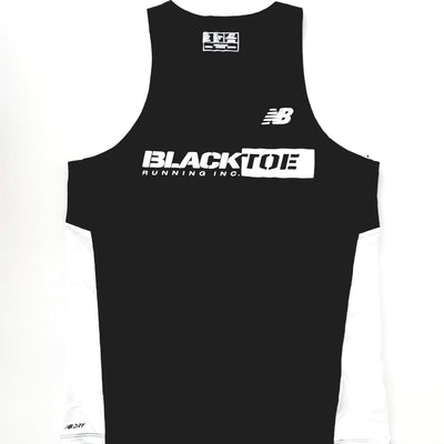 BlackToe Men's NB Singlet - BlackToe Running Inc.