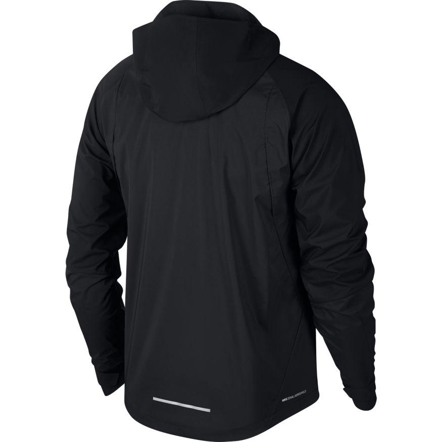 Nike Men's AeroShield Hooded Running Jacket - BlackToe Running Inc. - Toronto Running Specialty Store