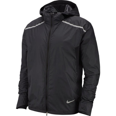 Nike Men's Repel Hooded Running Jacket - BlackToe Running Inc.