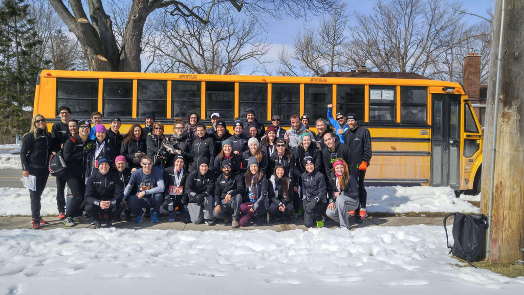 Chilly Half Marathon Bus 2018 - BlackToe Running Inc.