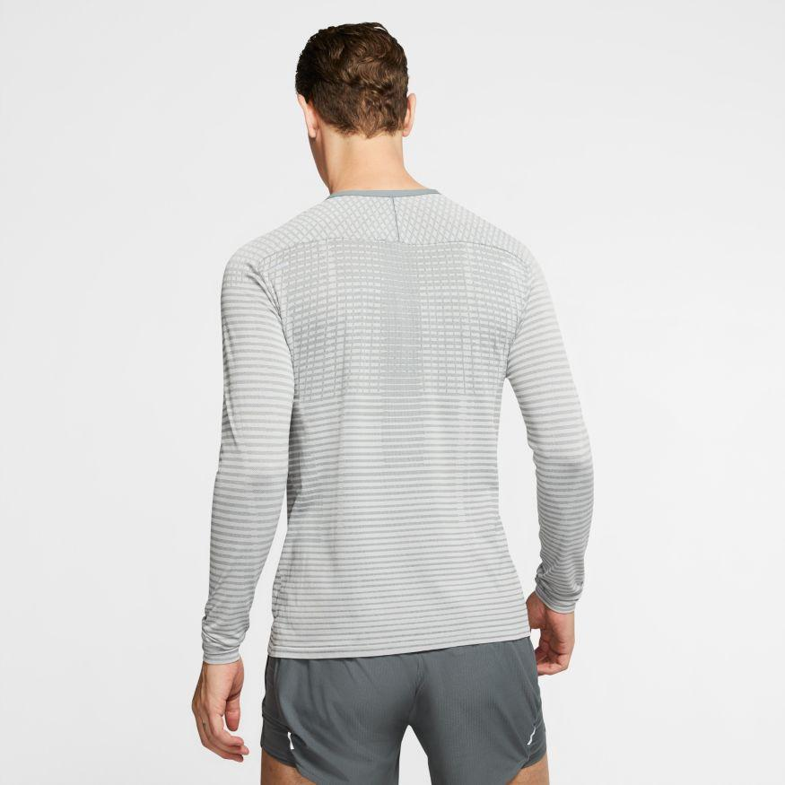 Nike Men's TechKnit Ultra Long Sleeve - BlackToe Running Inc. - Toronto Running Specialty Store
