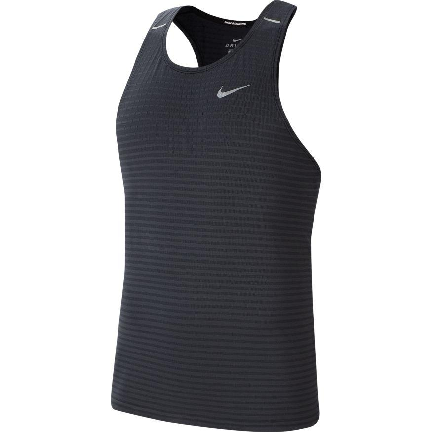 Nike Men's Techknit Ultra Running Tank - BlackToe Running Inc. - Toronto Running Specialty Store