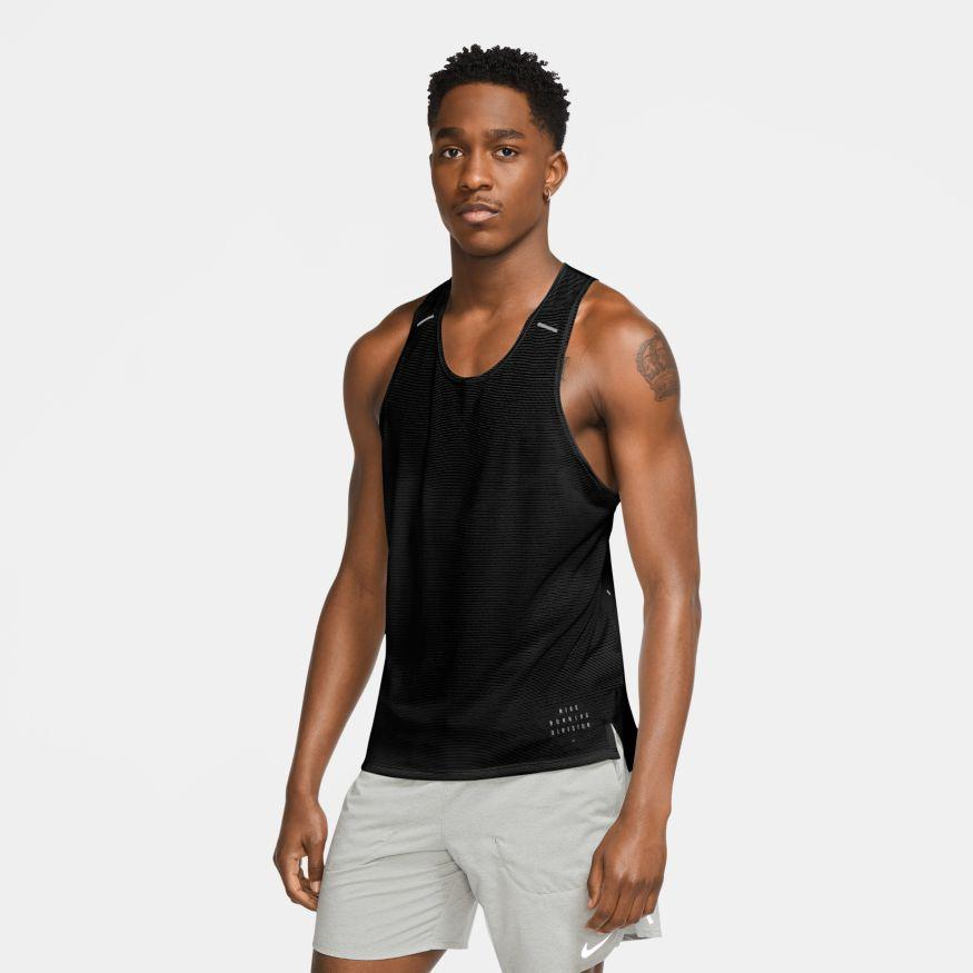 Nike Men's Run Division Tank - BlackToe Running Inc. - Toronto Running Specialty Store