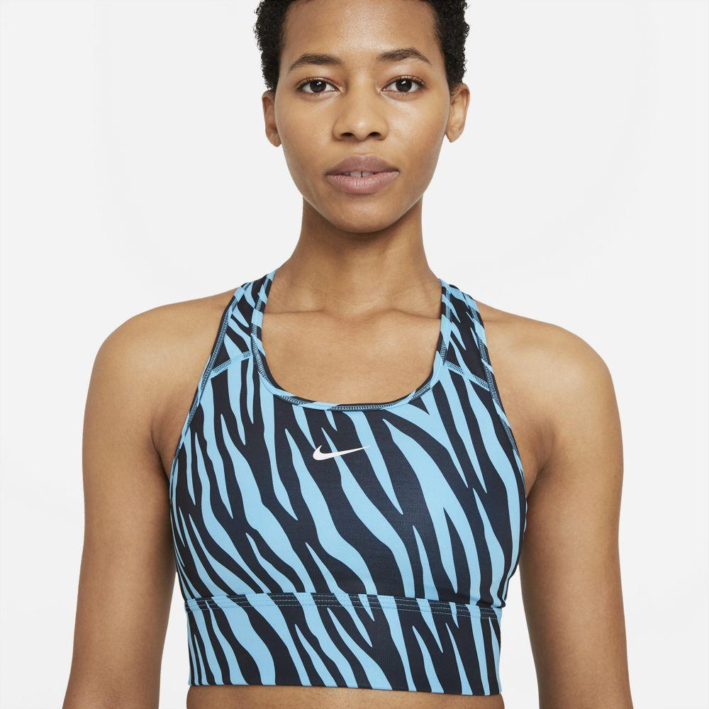 Nike Women's Swoosh Icon Clash Sports Bra - BlackToe Running Inc. - Toronto Running Specialty Store