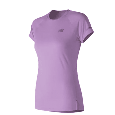 New Balance Women's  Ice 2.0 Short Sleeve - BlackToe Running Inc.