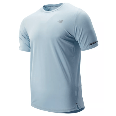 New Balance Men's NB Ice 2.0 Short Sleeve - BlackToe Running Inc.