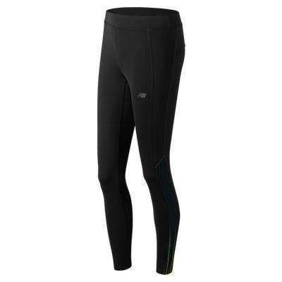 New Balance Women's Printed Accelerate Tight - BlackToe Running Inc.