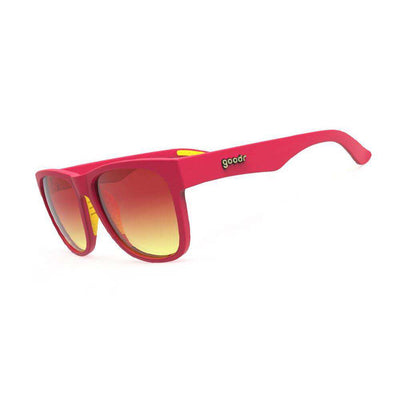 "Goodr BFG Sunglasses ""Makeup Time with Clifford"" - BlackToe Running Inc. - Toronto Running Specialty Store"