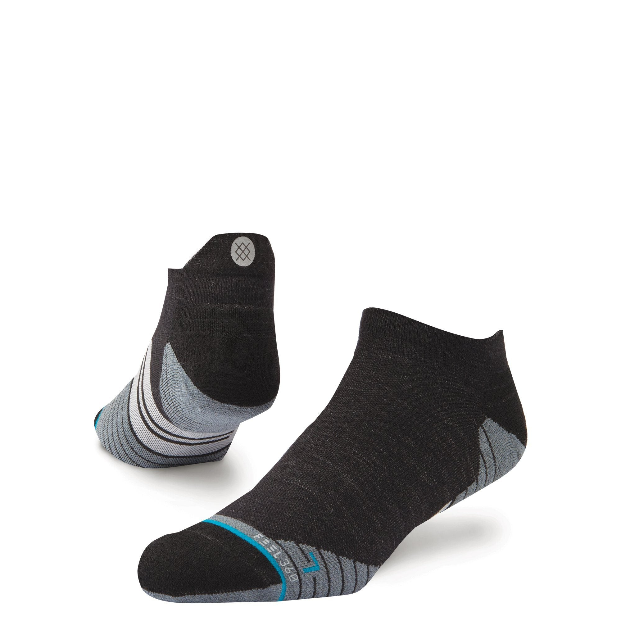 Stance Men's Run - Uncommon Solids - Wool Tab - BlackToe Running Inc. - Toronto Running Specialty Store