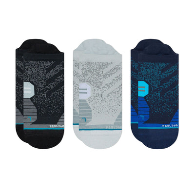 Stance Men's Run Tab 3-Pack - BlackToe Running Inc.