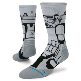 Stance Men's Star Wars Storm Trooper Run Crew