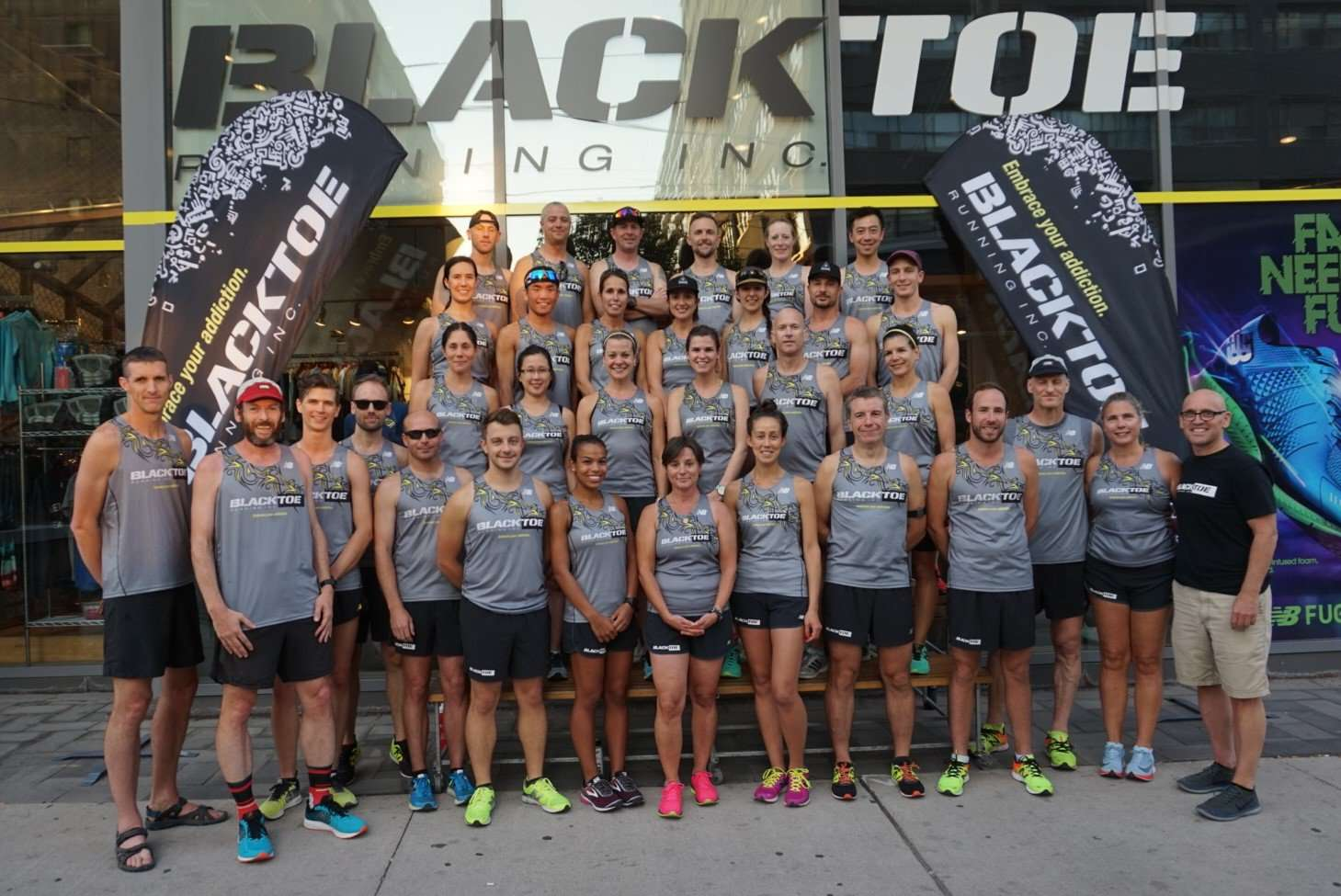 Race Team Initiation Fee - BlackToe Running Inc. - Toronto Running Specialty Store