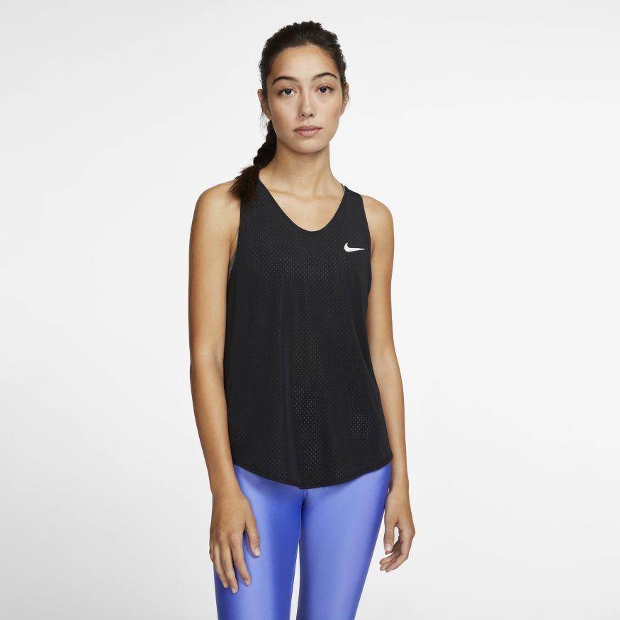 Nike Women's Breathe Running Tank - BlackToe Running Inc. - Toronto Running Specialty Store