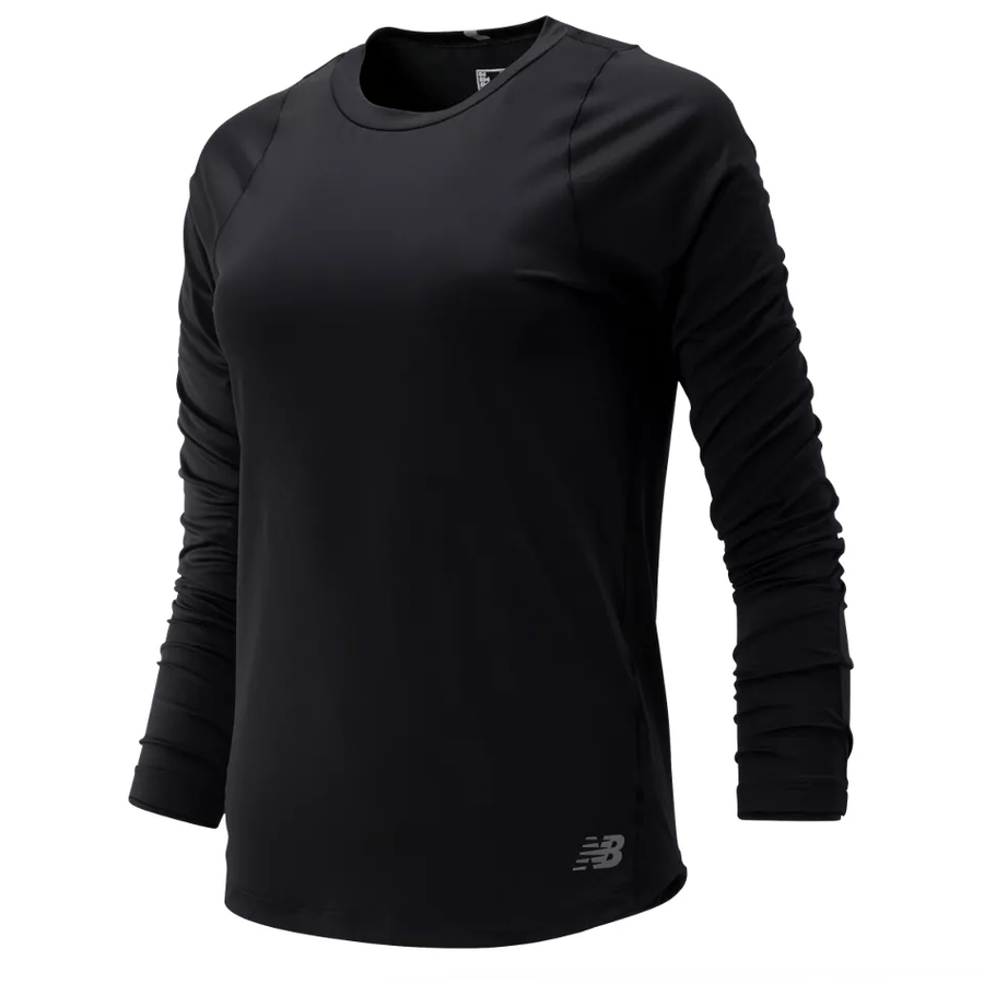 New Balance Women's Seasonless Long Sleeve - BlackToe Running Inc. - Toronto Running Specialty Store