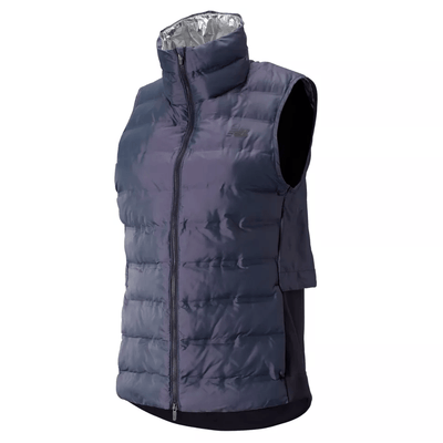 New Balance Women's Radiant Heat Vest - BlackToe Running Inc.