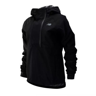 New Balance Women's Q Speed Waterproof Anorak - BlackToe Running Inc.
