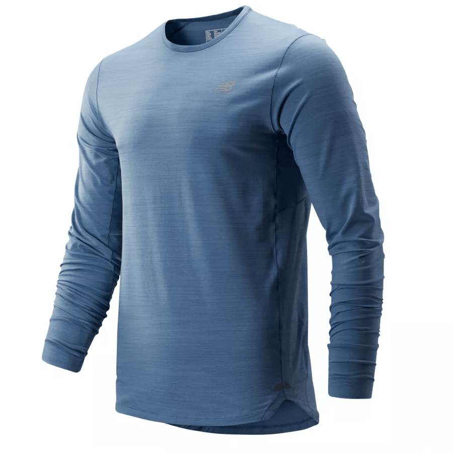 New Balance Men's Seasonless Long Sleeve - BlackToe Running Inc. - Toronto Running Specialty Store