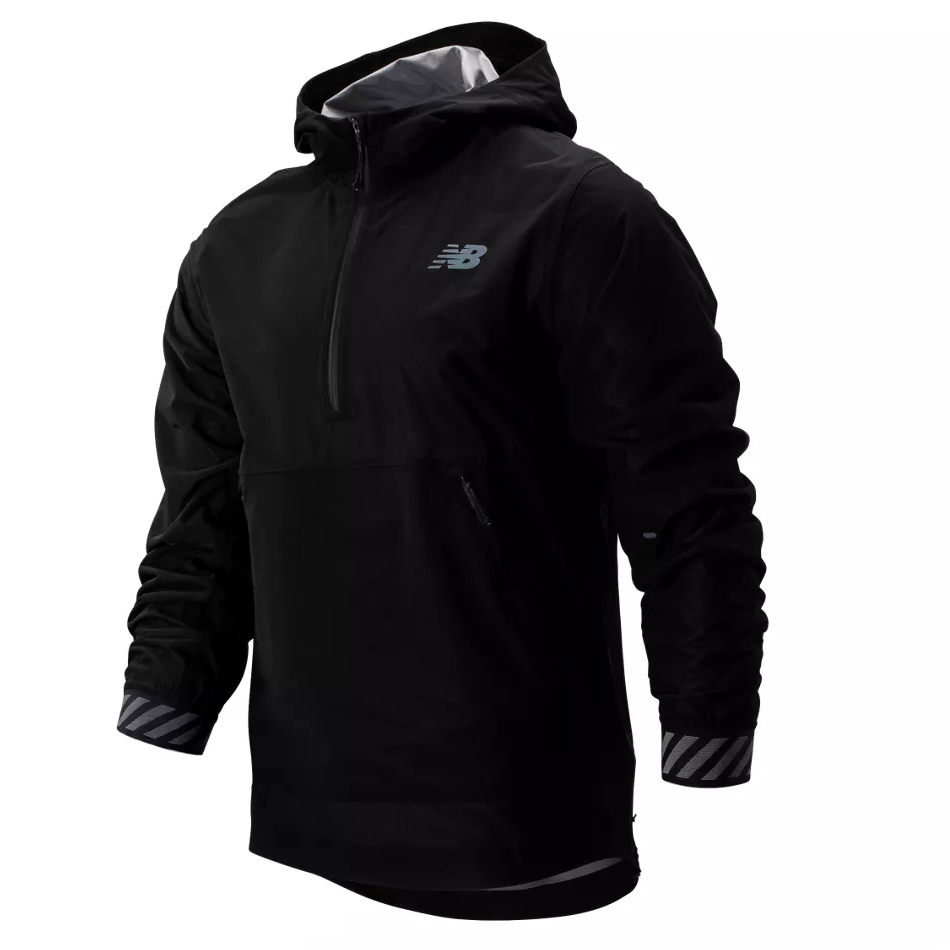 New Balance Men's Q Speed Waterproof Jacket - BlackToe Running Inc. - Toronto Running Specialty Store