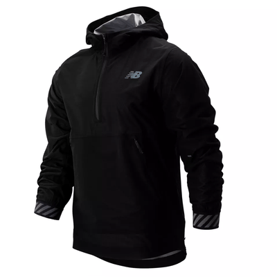New Balance Men's Q Speed Waterproof Jacket - BlackToe Running Inc.