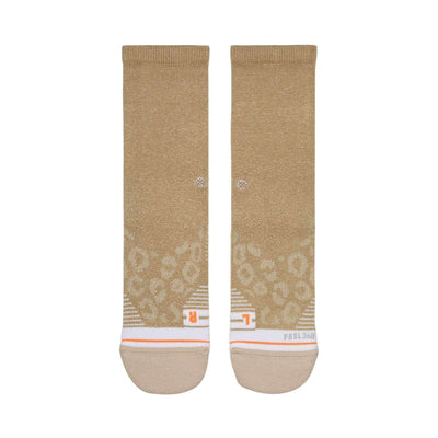 Stance Women's Train Shiny Gold Crew - BlackToe Running Inc.