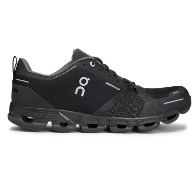 On Running Women's Cloudflyer Waterproof - BlackToe Running Inc.