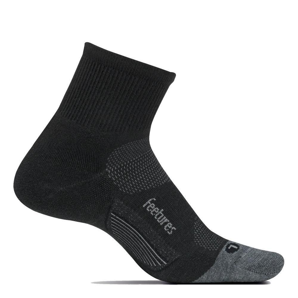 Feetures Merino 10 Ultra Light Quarter Sock - BlackToe Running Inc. - Toronto Running Specialty Store