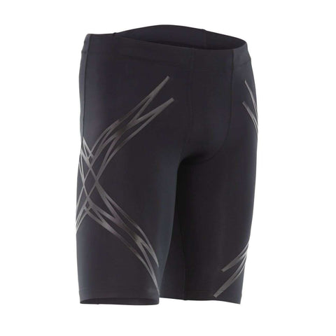 2XU Men's Lock Compression Shorts - BlackToe Running Inc.