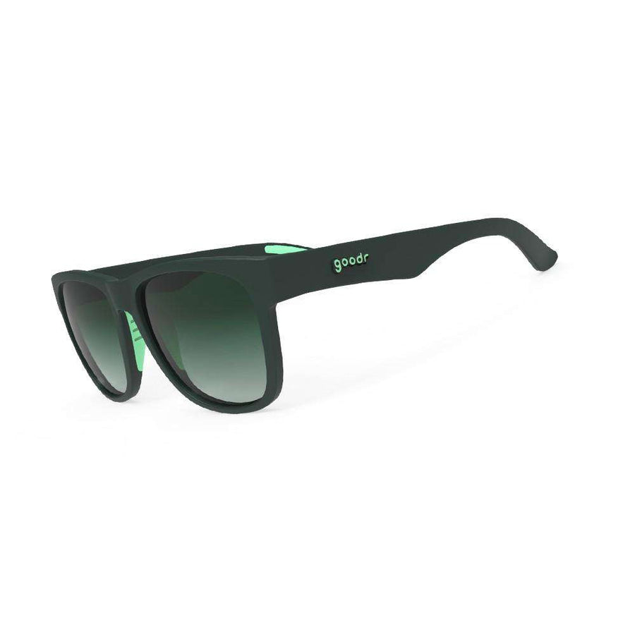 "Goodr BFG Sunglasses ""Mint Julep Electroshocks"" - BlackToe Running Inc. - Toronto Running Specialty Store"