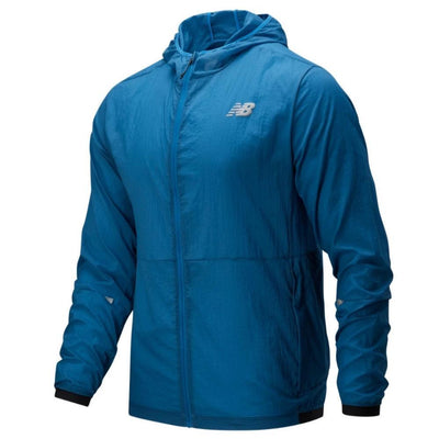 New Balance Men's Impact Run Light Pack Jacket - BlackToe Running Inc. - Toronto Running Specialty Store