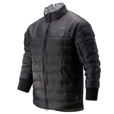 New Balance Men's Radiant Heat Jacket - BlackToe Running Inc.