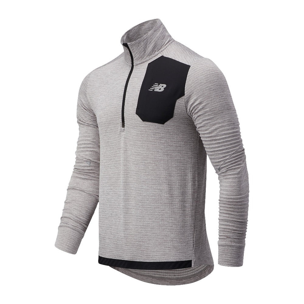 New Balance Men's Impact Grid Half Zip - BlackToe Running Inc. - Toronto Running Specialty Store