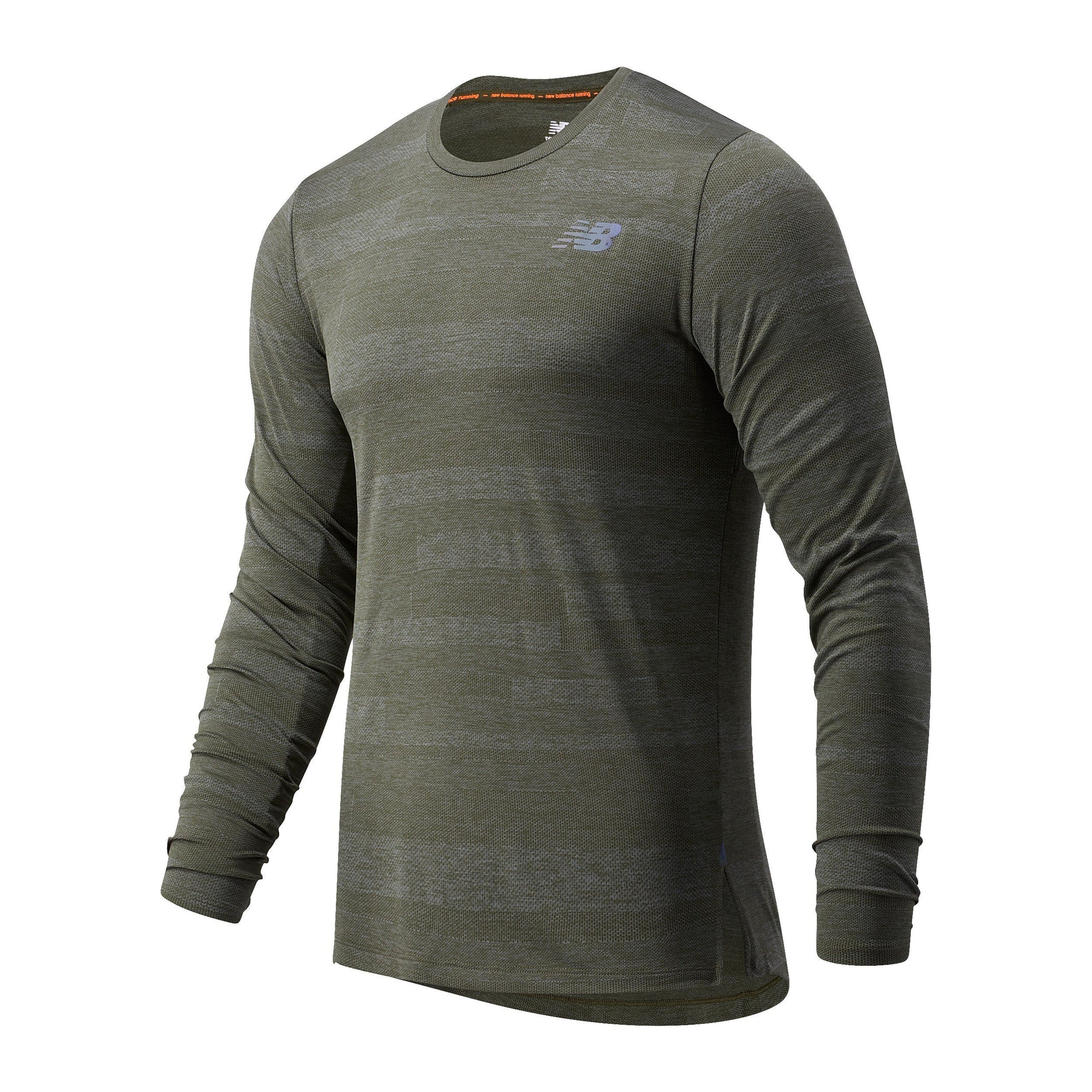 New Balance Men's Q Speed Fuel Long Sleeve - BlackToe Running Inc. - Toronto Running Specialty Store