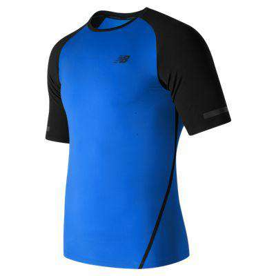 New Balance Men's Trinamic Short Sleeve - BlackToe Running Inc.