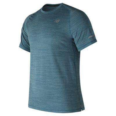 New Balance Men's Seasonless Short Sleeve with UPF - BlackToe Running Inc. - Toronto Running Specialty Store