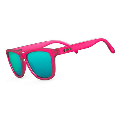 "Goodr OG Sunglasses ""Flamingos on a Booze Cruise"" - BlackToe Running Inc."