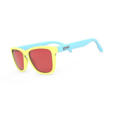 "Goodr OG Sunglasses ""Pineapple Pain Killers"" - BlackToe Running Inc."