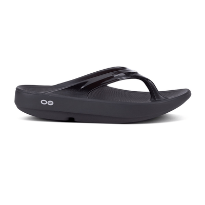 Oofos Oolala Thong - BlackToe Running Inc.