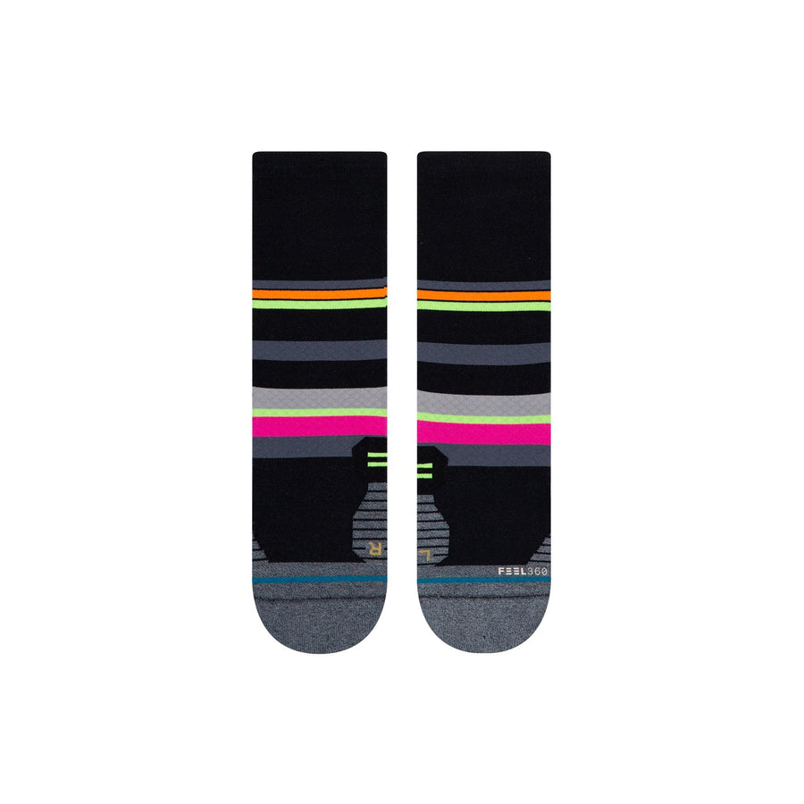 Stance Women's Run Tiled Crew - BlackToe Running Inc. - Toronto Running Specialty Store