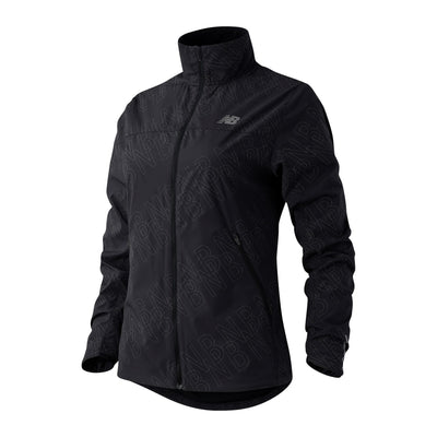 New Balance Women's Reflective Accelerate Protect Jacket - BlackToe Running Inc. - Toronto Running Specialty Store