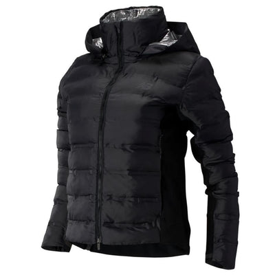 New Balance Women's Radiant Heat Jacket - BlackToe Running Inc.