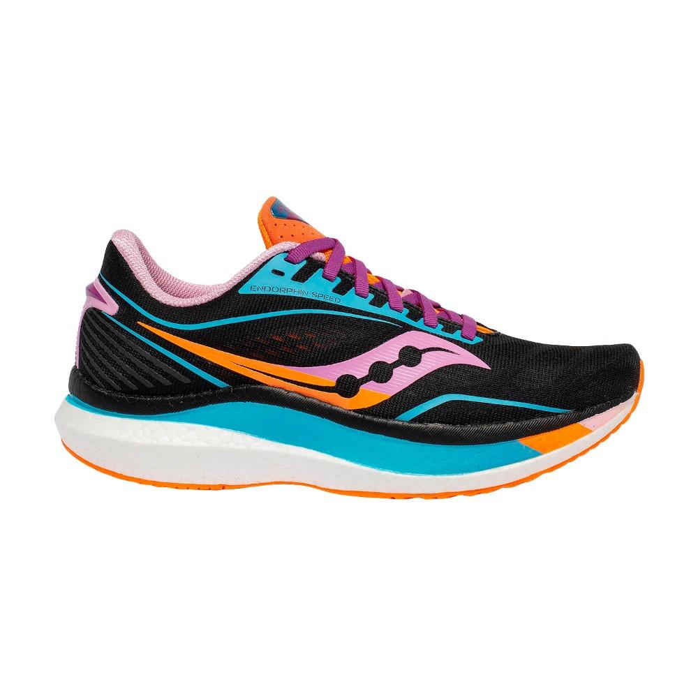 Saucony Women's Endorphin Speed - Bright Future Edition - BlackToe Running Inc. - Toronto Running Specialty Store