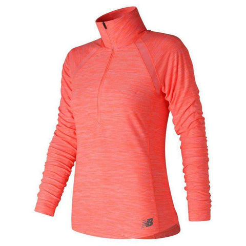 New Balance Women's Anticipate Half Zip - BlackToe Running Inc.